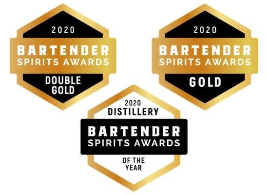 Bartender Spirits Awards Medals