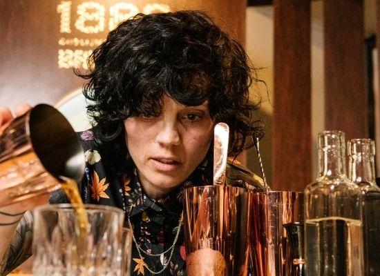 In picture: NATASHA MESA Head Bartender and Bar Manager at Deadshot PDX, Portland, OR (header image).