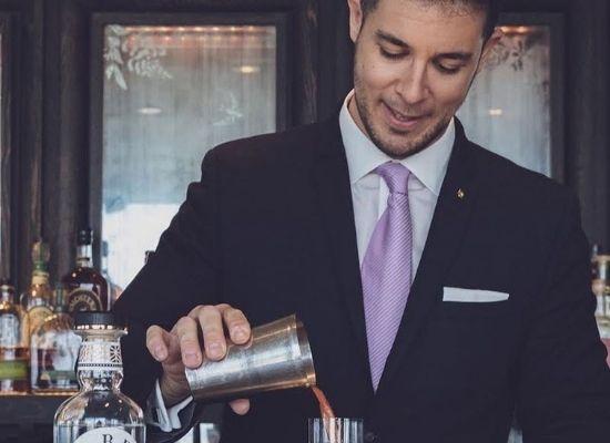 Luca Rapetti, assistant Bar Manager at Shangri-La