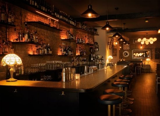 The bar at Coupette London