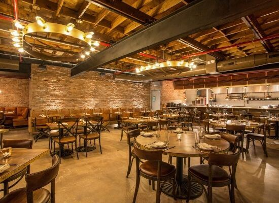 Beaker and Gray dining room