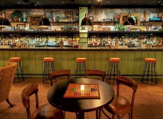 Beaker and Gray bar shot
