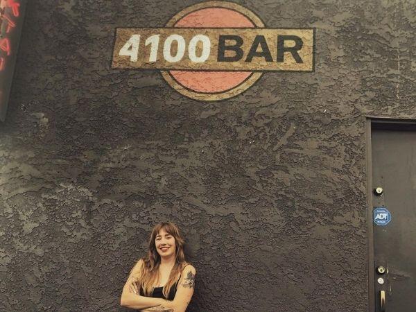 Tiana Cornelius at 4100 Bar