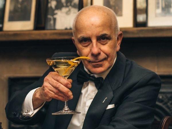 Alessandro Palazzi, Head Bartender at Dukes Bar