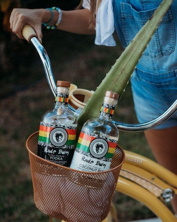Rude Bwoy Rum and Vodka