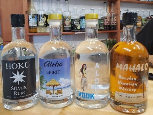 Hawaii based original crafted liquor, liqueur and spirit brands