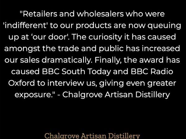 Chalgrove Distillery Testimonial