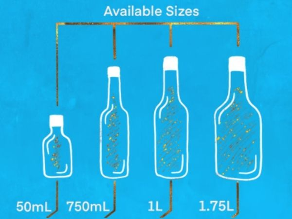 Doers Vodka Available sizes bottles