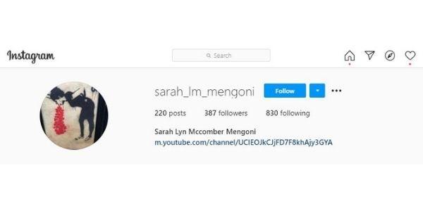 Sarah Mengoni @sarah_lm_mengoni
