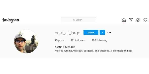 Austin Mendez @nerd_at_large
