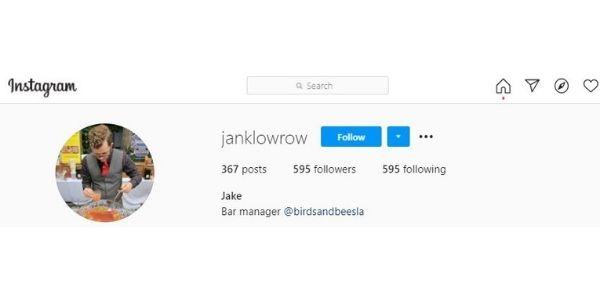 Jake Larowe @janklowrow