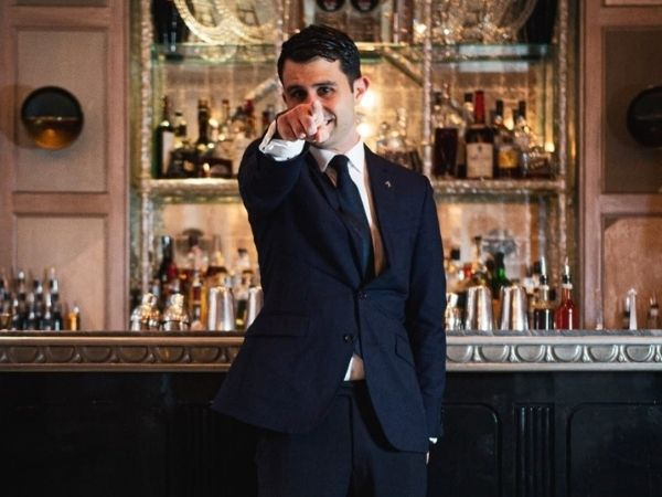 In Picture: Giorgio Bargiani, Head Mixologist at The Connaught Bar which recently won the world's best bar award