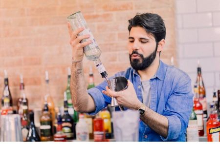 Photo for: Michele Lombardi: A bartending prodigy