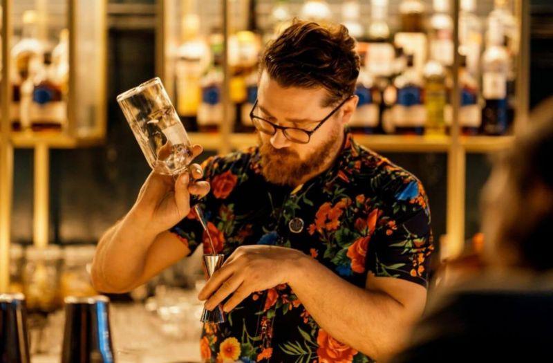Photo for: Jerome Allaguillemette: Barista to bartender